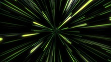 4K Abstract Of Warp Or Hyperspace Motion In White Star Trail. Exploding And Expanding Movement. Motion Graphic And Animation Background.
