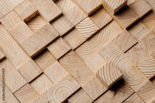 Obrazy brązowe  background-made-of-wooden-cubes