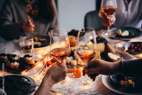 Photo sur Aluminium Bar Dinner party