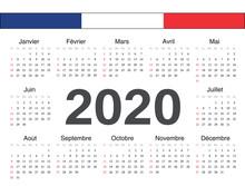 Vector French Circle Calendar ...