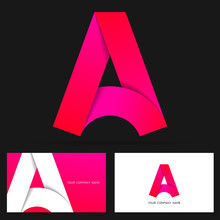 Letter A Logo Design And Busin...