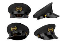 Set Of Black Taxi Driver Caps ...