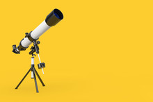 White Modern Mobile Telescope ...