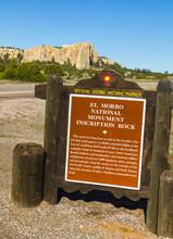 El Morro National Monument Sign