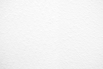 White Paint Concrete Wall Texture Background, Suitable for Presentation and Web Templates with Space for Text.