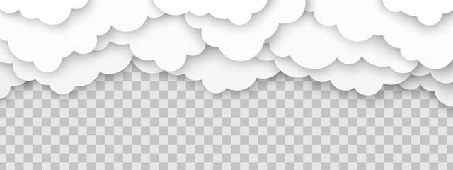 Clouds volumetric illustration