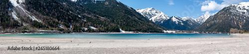 Tuinposter Alpen Alps panorama in Austria