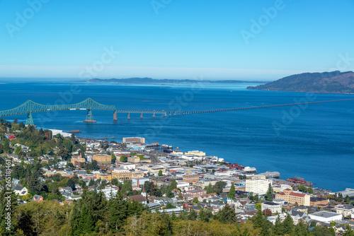 Photo Astoria, Oregon Cityscape