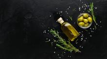 Organic Olive Oil Concept