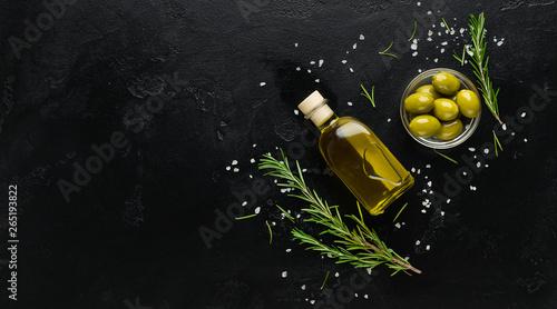 Photo Organic olive oil concept