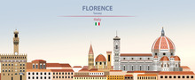 Vector Illustration Of Florenc...