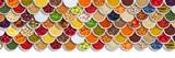 Owoce i warzywa owoce jagody orzechy przyprawy składniki tło z góry