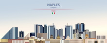 Vector Illustration Of Naples ...