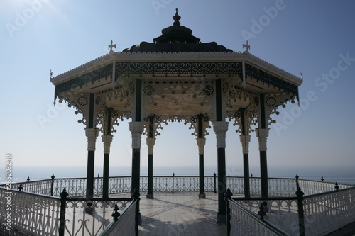 Brighton East Sussex bandstand band stand restored Victorian on seafront Wallpaper Mural