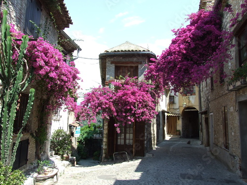 Fototapety, obrazy: Village, Provence, Cote d'azur, South France