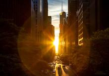 Rays Of Sunlight Shining Betwe...