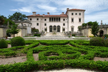 View Of The Vizcaya Museum And...