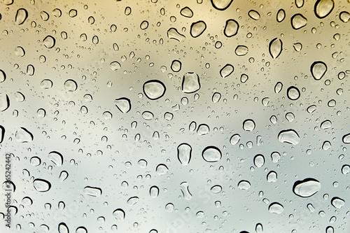 gotas de agua Canvas Print