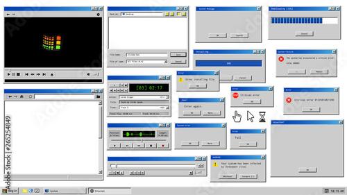 Fotografía  Old user interface