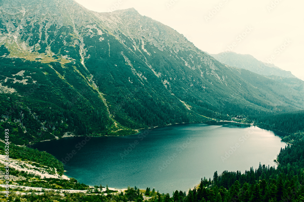 Fototapety, obrazy: Staw Morskie Oko - Tatry