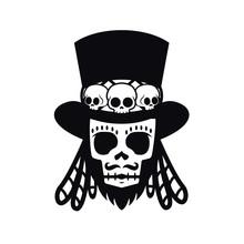 Papa Legba Voodoo Man Hallowee...