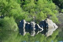 Folsom Lake In California, USA.