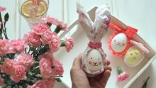 Hand Holds Easter Egg Decorate...