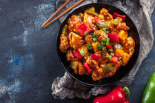 Sweet And Sour Chicken With Co...