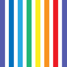 Line Rainbow Art.