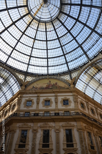 Cadres-photo bureau Milan The Galleria Vittorio Emanuele II