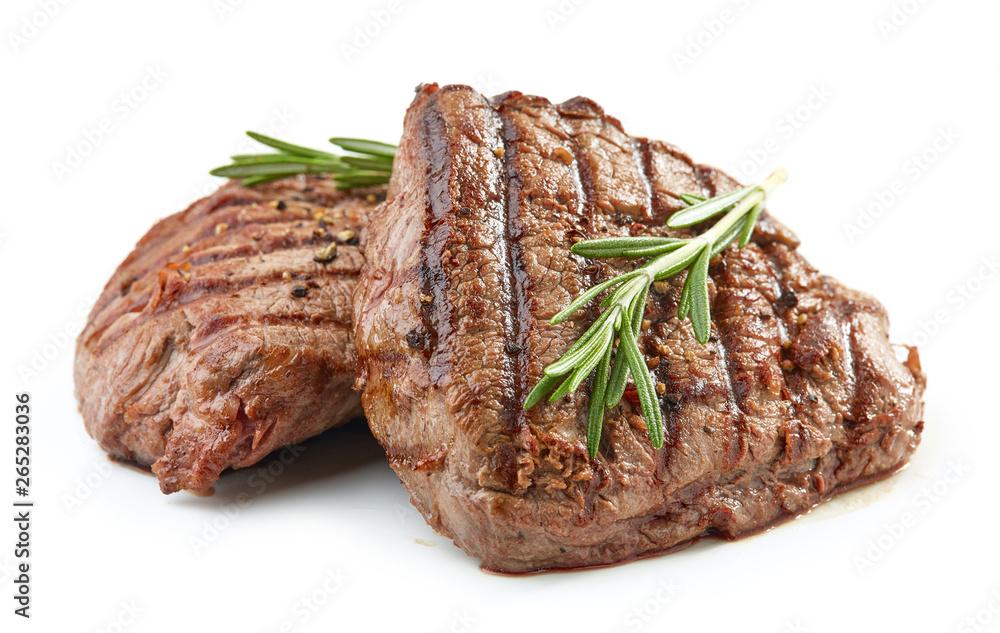 Fototapeta grilled beef fillet steak meat