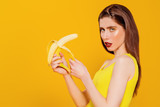 Fototapeta Panels - banana diet for weight loss
