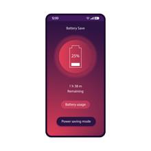 Battery Saver App Smartphone I...