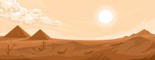 Desert Landscape Background