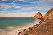 Mugu Rock In Ventura, Southern California