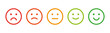 Rating emotion faces