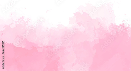 Abstract pink watercolor background for your design, watercolor background concept, vector.