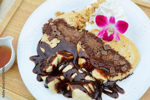 Photo  チョコレートパンケーキ