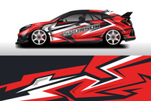 Wrap Livery Decal Car Vector ,...