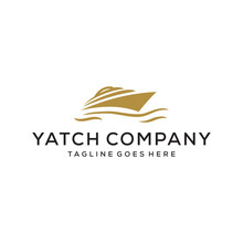 Yacht Vector Illustration Logo...