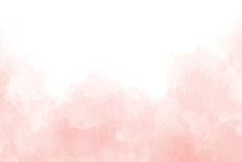 Pink Abstract Watercolor Backg...