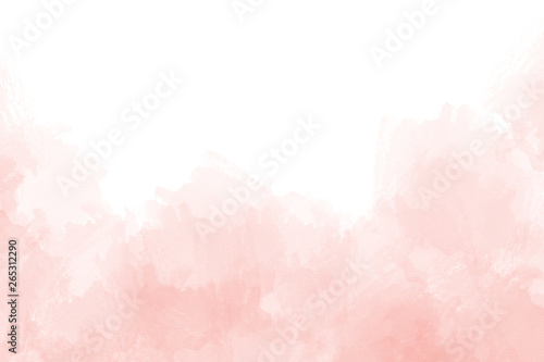 Fototapeta Pink abstract watercolor background
