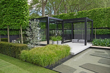 A Cool Modern Garden With Some...