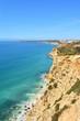 seascape of the Fortress Almadena o Boca del Rio, Algarve, Portugal