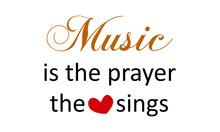 Christian Music Quote Design, ...