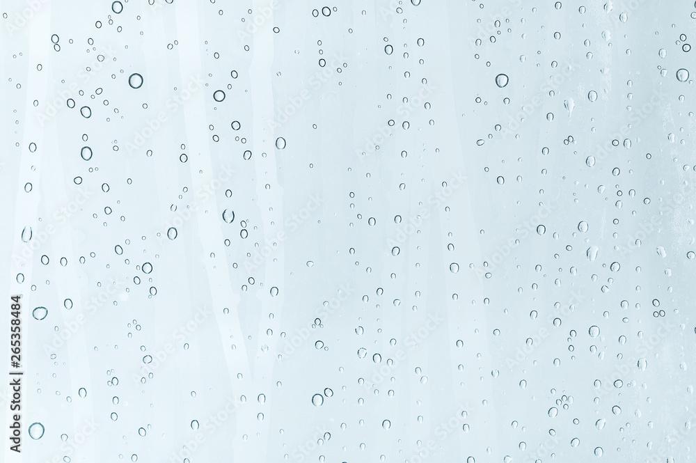 Fototapety, obrazy: water drops on window glass