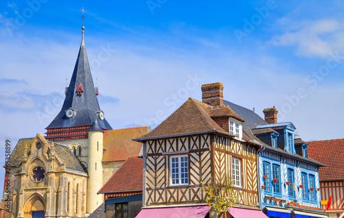The village of Beaumont-en-auge,  Normandy, France Fototapete