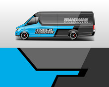 Van Wrap Design. Wrap, Sticker...
