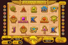 EGYPT Style Casino Slot Machin...