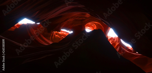 Fotografie, Obraz  Antelope Canyon is a slot canyon in the American Southwest